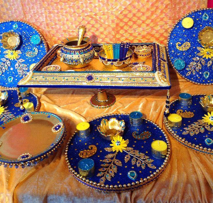 Mehndi Plates Decoration : Best images about mehndi plates on pinterest mehendi