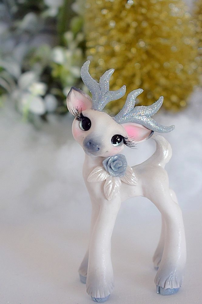 December Rose Whisper Fillies Original Deer fawn Sculpture Handmade art doll | Dolls & Bears, Dolls, Art Dolls-OOAK | eBay!