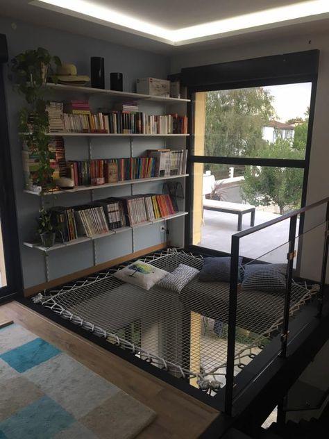 ¡Inspiración decoración !  – Un espacio de descanso atípico con una red de c…