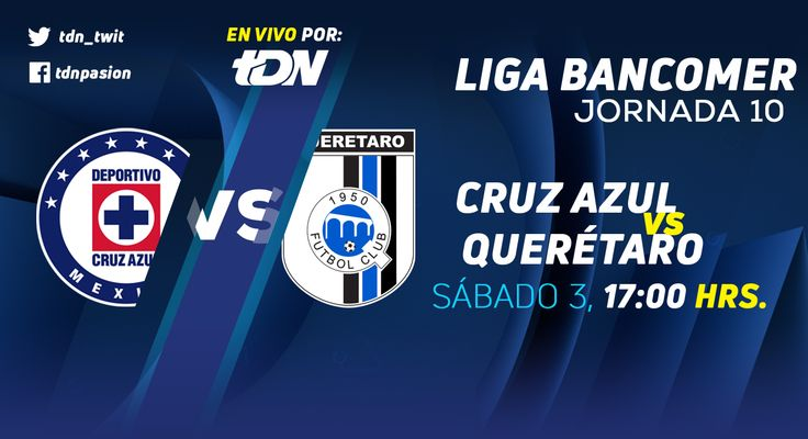 El equipo de Cruz Azul recibe en la cancha del Estadio Azul (Ciudad de México (D.F.)) a Querétaro en partido de <a href='https://tv.futboladiccion.com/liga-mx/'>Liga MX</a>. El juego corresponde a la jornada 10. Mientras que la transmisión de Cruz Azul vs Querétaro en Vivo será por medio de fuboTV. En unos instantes descubre en que otro canal juega Cruz Azul y otros detalles.