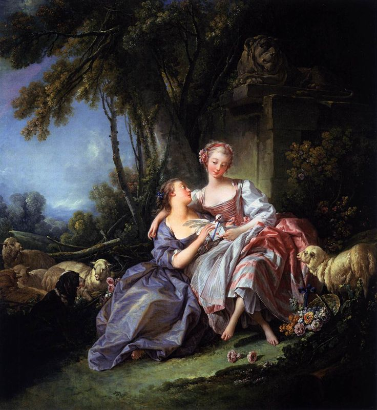The Love Letter by Francois Boucher.
