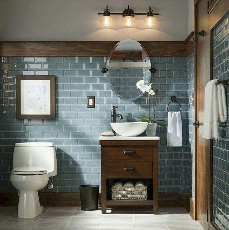 56+ Amazing Rustic Master Bathroom Remodel Ideas – Bathroom