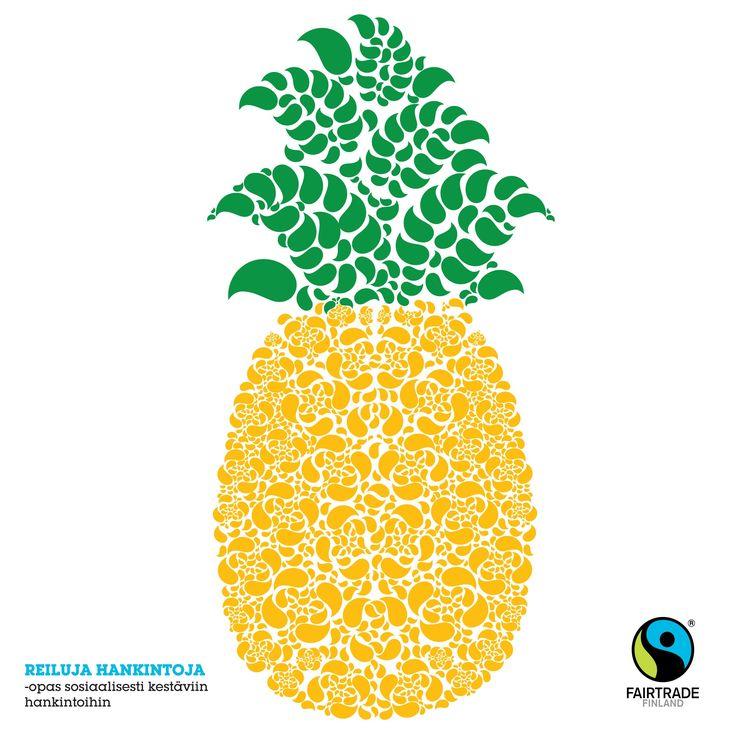 Fairtrade illustration by Kiira Sirola ©