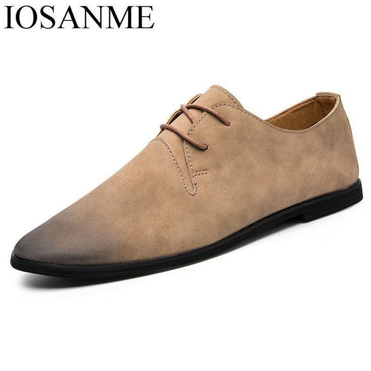 italian elegant formal leather men shoes luxury brand 2018 male footwear fashion dress work flats designer oxford shoes for men #Affiliate #oxfordshoes #italianfashion