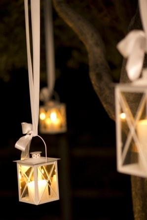 Hanging lanterns. Design by The Lake Como Wedding Planner #lakecomo #wedding #weddingplanner