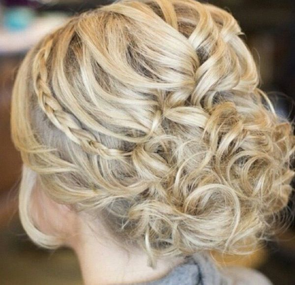 Love this but I think my hair is too long | Prom hair