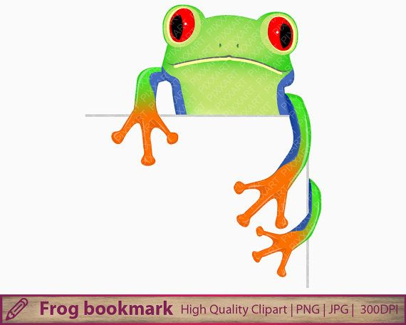 frog corner bookmarks 151 best images about graphics on clipart 2054