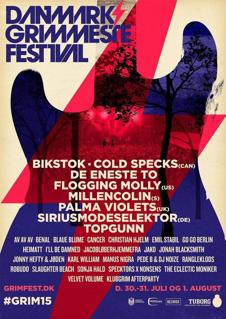 Danmarks Grimmeste Festival on Behance