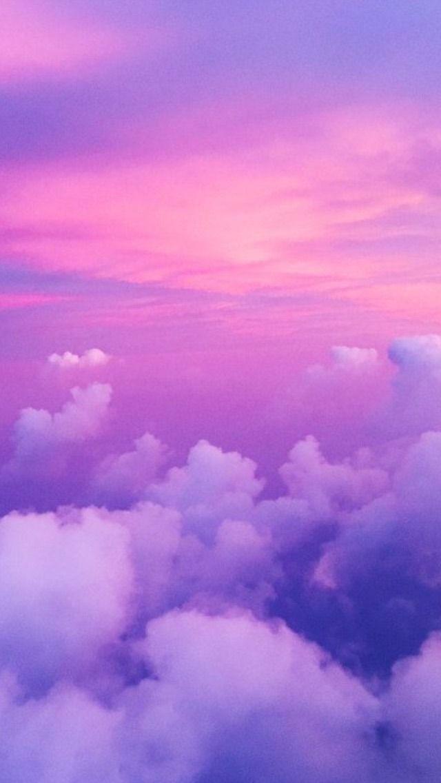 Backgrounds Iphone Wallpaper Sky Sky Aesthetic Purple Wallpaper
