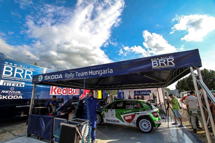 Norbert Herzcig Igor Bacigal Rallye im Skoda Fabia R5 Székesfehérvár rallye 2017 | Srth.hu