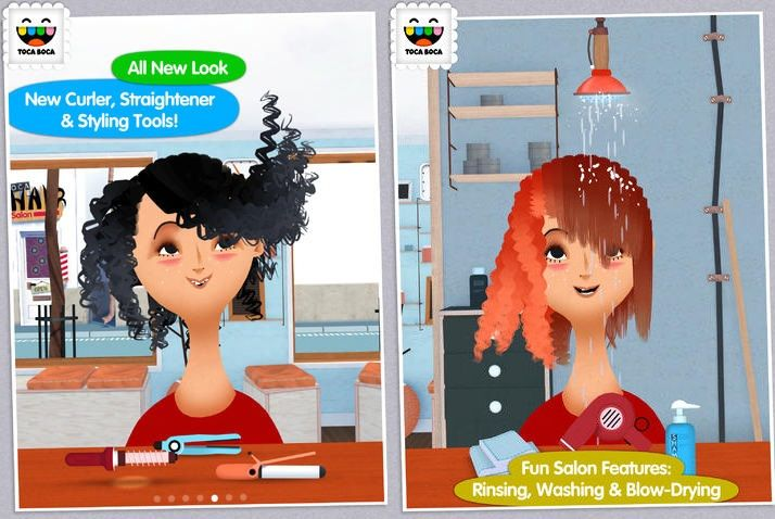 Toca Hair Salon 2: More hairstyles and tools in this sequel to the immensely popular kid's haircut simulation