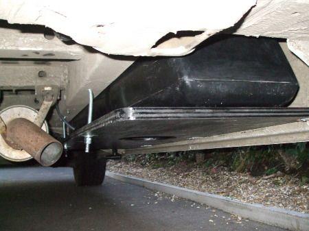 My Campervan Project Is Online Water Tank Under Van