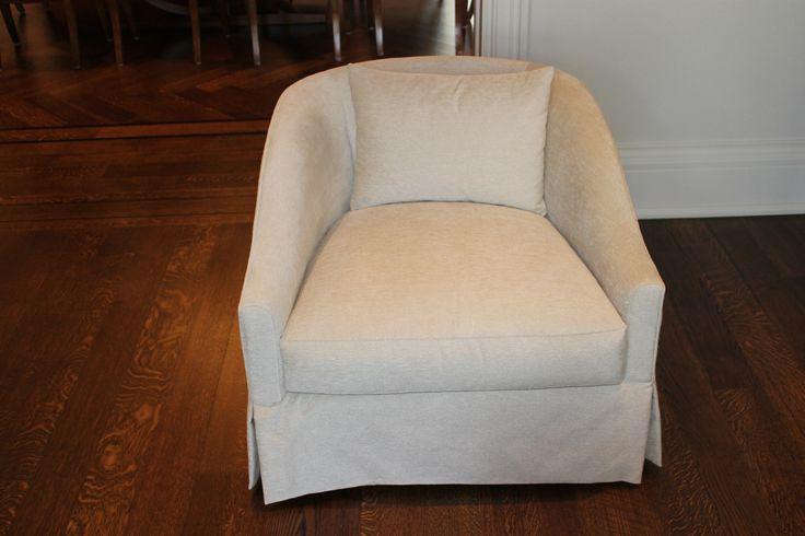 Custom made armchair.