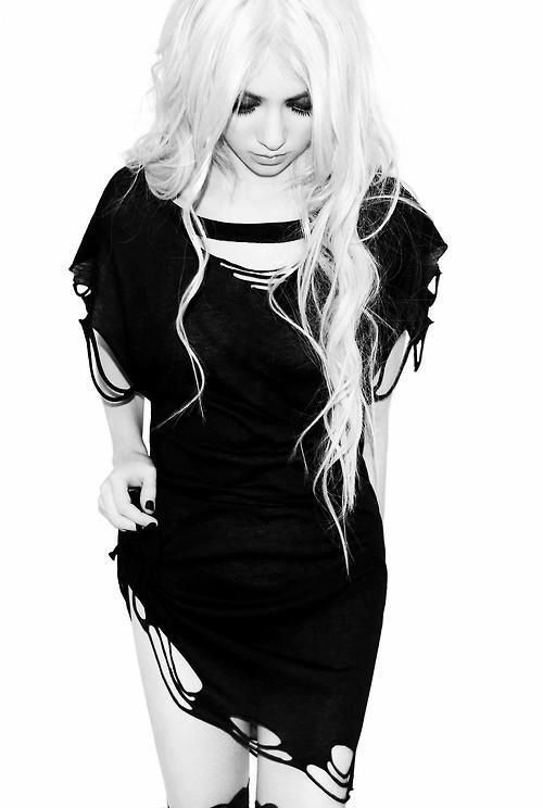 Taylor Momsen, The Pretty Reckless. I'm obsessed with this band right now!