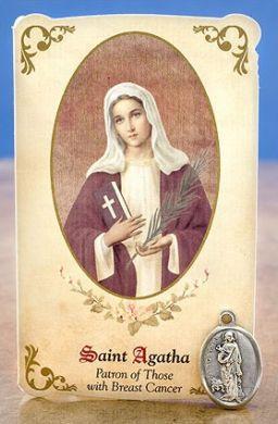 saint agatha catholic single women Meet the patron saint of single lay women philip kosloski  other saints to invoke are st agatha of sicily, st margaret of cortona and st praxides of rome  daily catholic prayer—st .