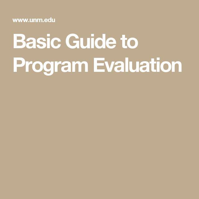 Más de 25 ideas increíbles sobre Program evaluation en Pinterest - program evaluation