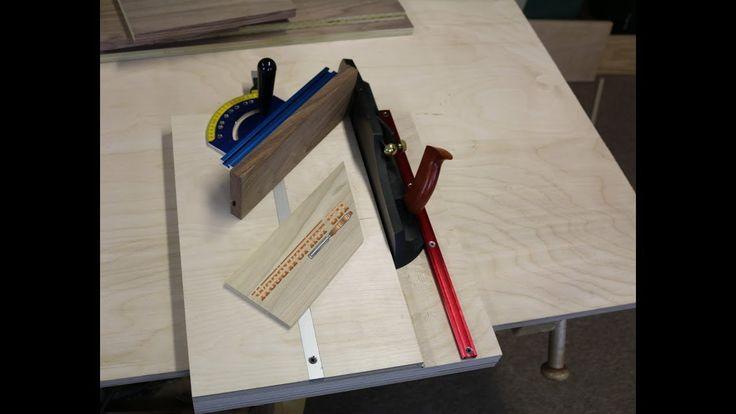 Making An Adjustable Woodworking Shooting Board