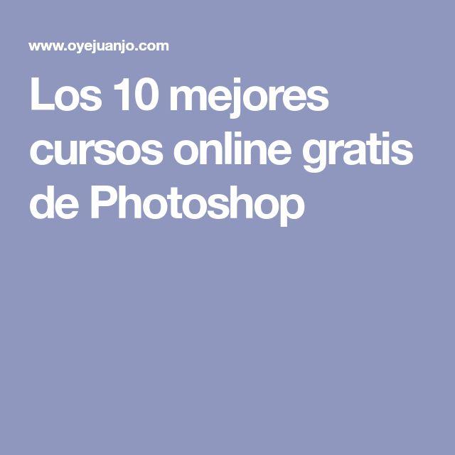 Los 10 mejores cursos online gratis de Photoshop