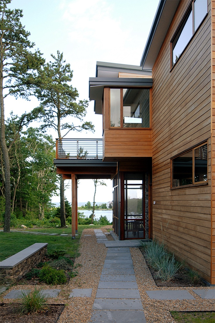 Cove House | stanev potts architects | ArchinectMuskoka Cottage´S Summe House, Stanev Potts, Cove House, Potts Architects, Artitecti Buildings, Medini Namuka