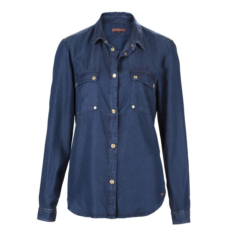 A denim classic from #7forAllMankind - great to combine with some striped items