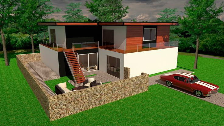 Sketchup House PRZ Speed Build