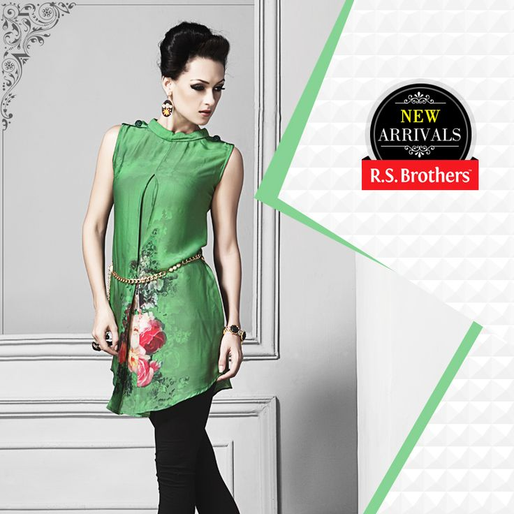 Make a Unique #Style Statement, by adding Splendid touch to your #Beautiful Personality. Visit your #R.S.Brothers for Latest summer collections.