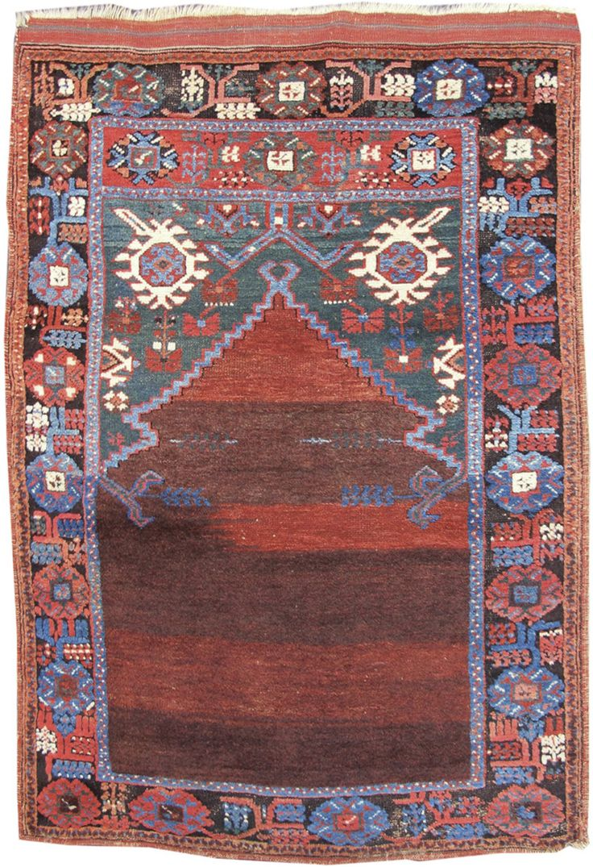 Karaman Prayer Rug Karaman Prayer Rug 19th C (3rd Q) Turkey