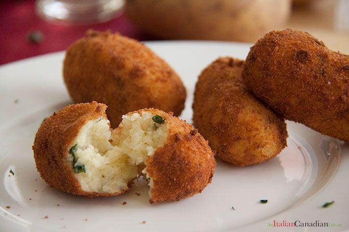 Recipe: Crocchette di patate (Potato Croquettes)