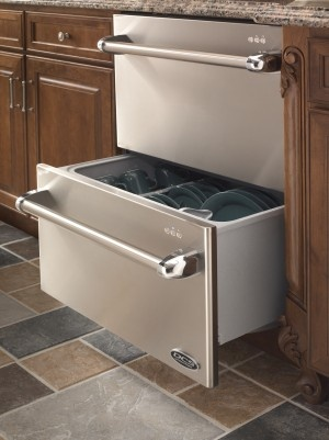 A dishwasher consisting of two drawers would mean not having to wait until the dishwasher is full and smells bad.