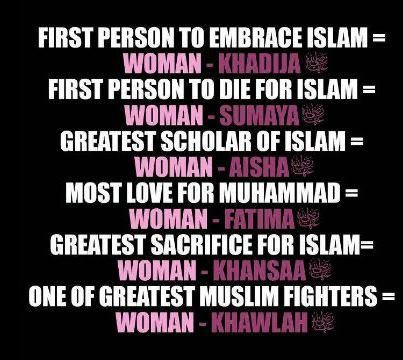 Women in Islam  Islam is beautiful...Alhamdulillah