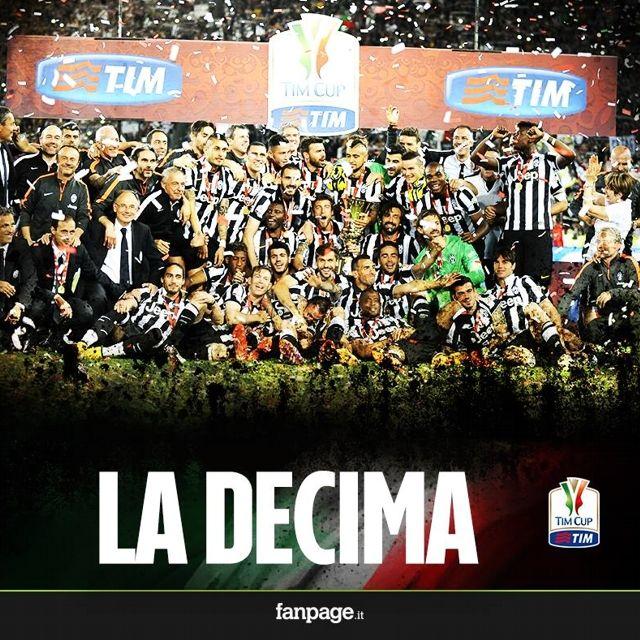 La #Juventus conquista la sua decima #CoppaItalia