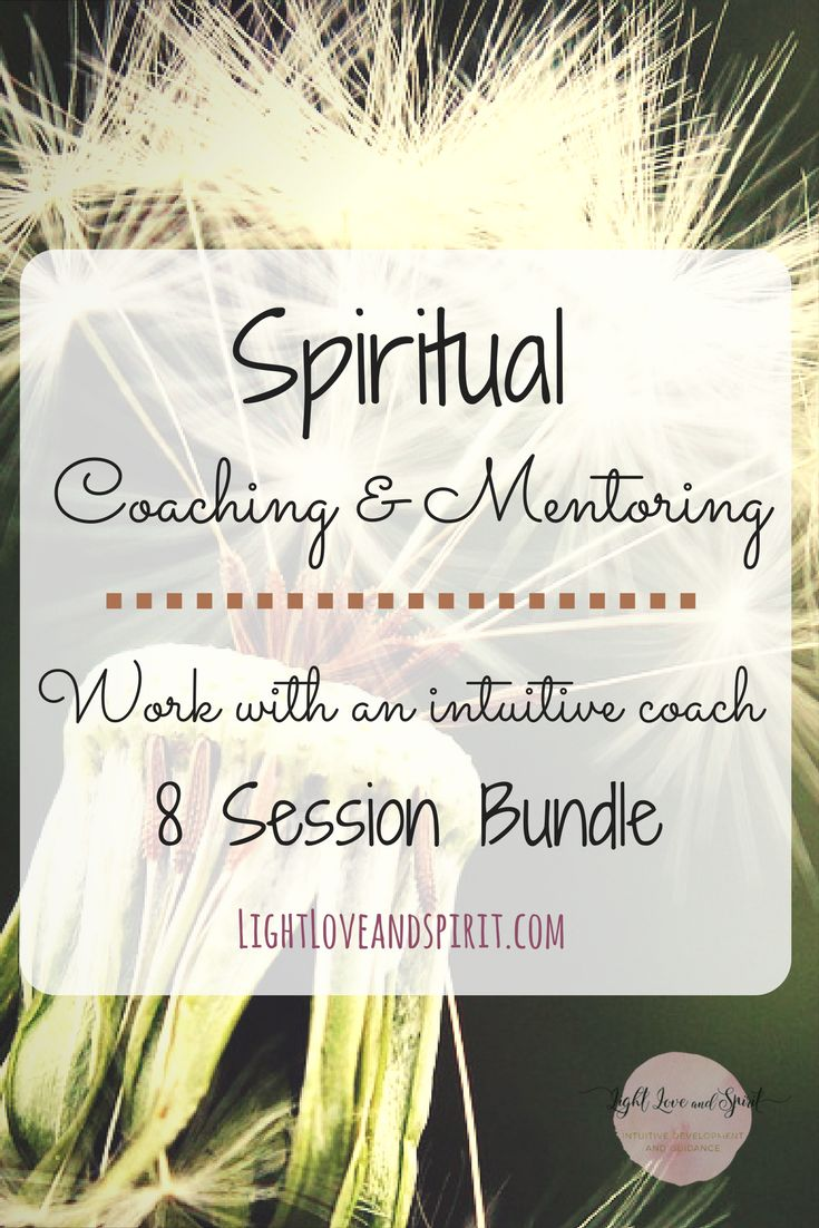 Spiritual coaching is a great way to develop your own intuitive abilities or even t receive clarity and healing on life long issues