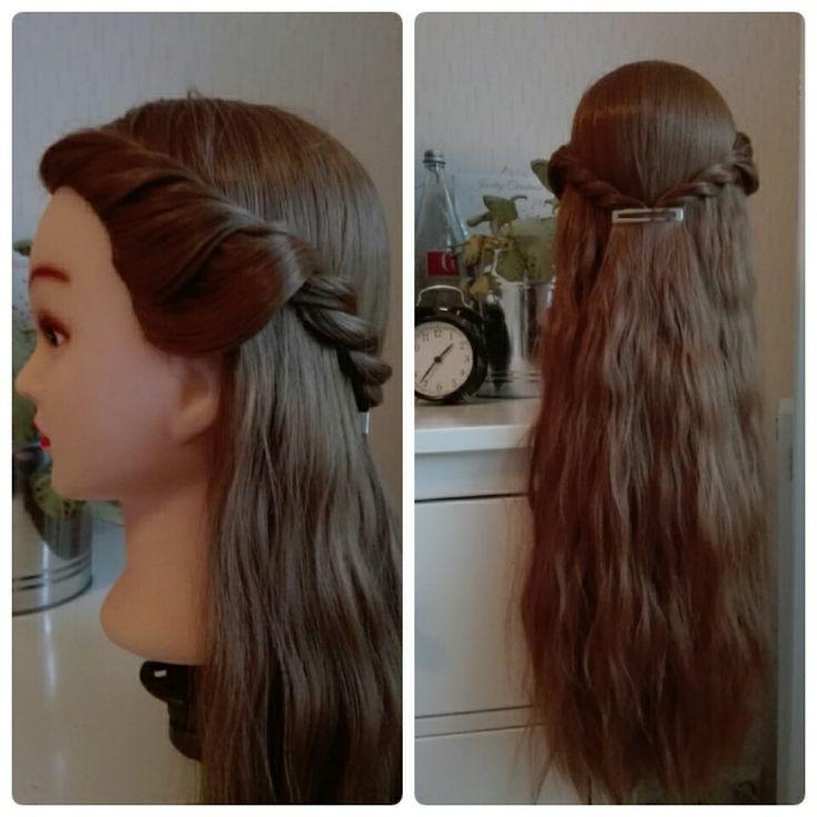 Half up hair