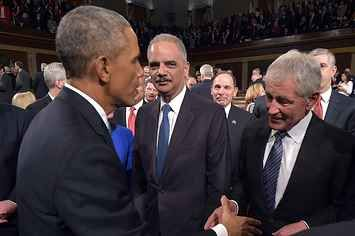 Eric Holder: I Don't Worry Too Much About Terminology Debate On Islamic Extremism