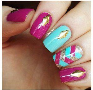 Manicure diseños faciles , Diseños de uñas de manicure , Manicure diseños faciles , Diseños de uñas de manicure