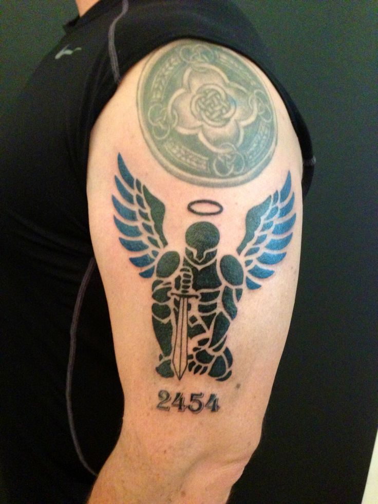 st michael tribal tattoo tattoo ideas pinterest