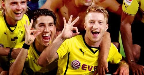 Nuri Sahin and Marco Reus :)))