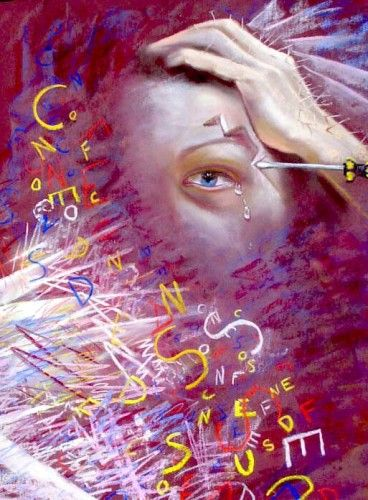 """Featured Pain Art: """"My Migraine"""" - National Pain Report 