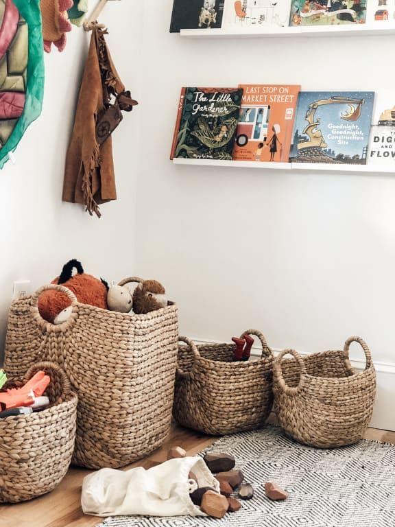Aimee Arrow Baskets World Market Toy Basket Toy Storage Baskets Stuffed Animal Storage