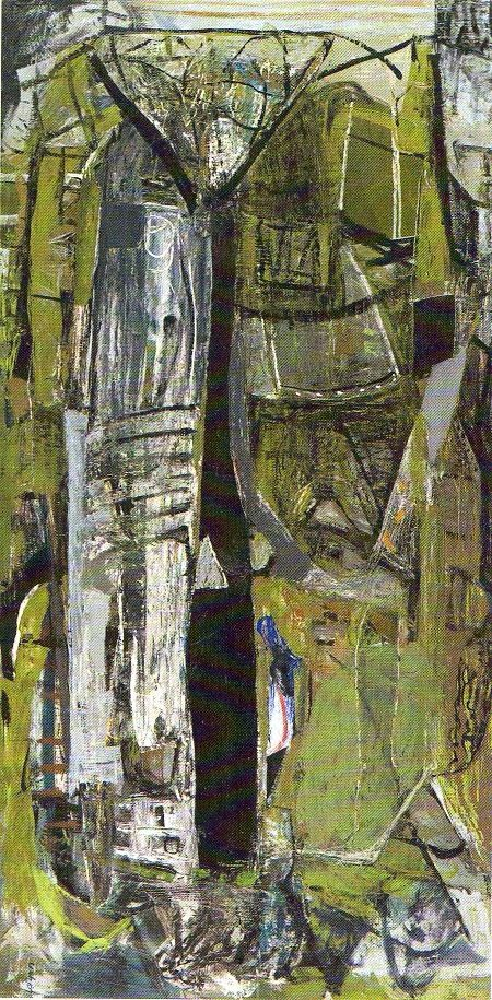 Peter Lanyon - St Just  Looking at abstract landscape, textiles ideas.