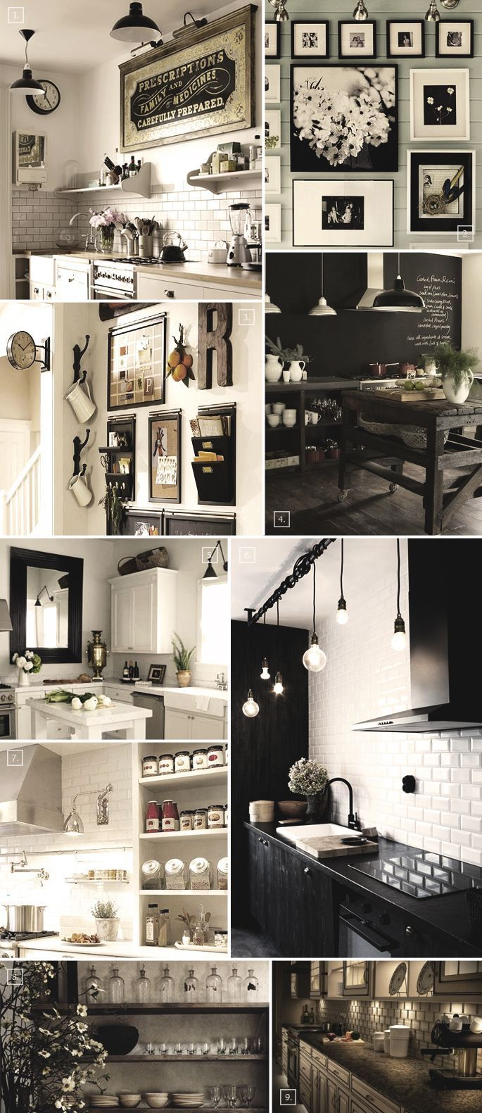 Wall decor for kitchens - Beautiful Wall Decor Ideas For A Kitchen