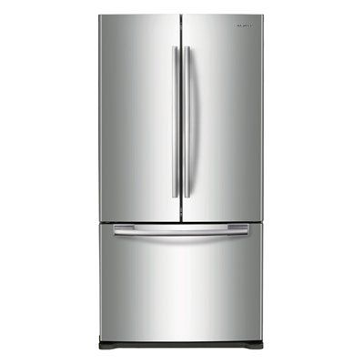 samsung rf197acrs xac energy star 17 cubic ft french door counter depth refrigerator samsung. Black Bedroom Furniture Sets. Home Design Ideas