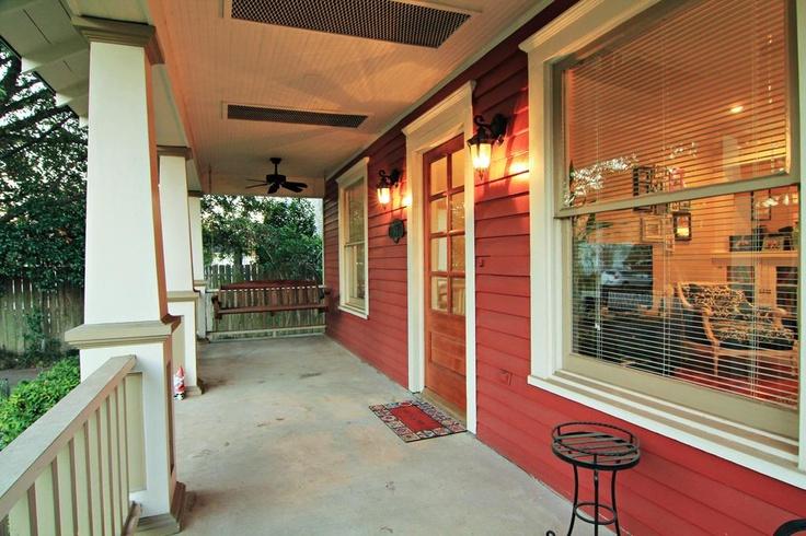 Craftsman porch 2 ceiling fans