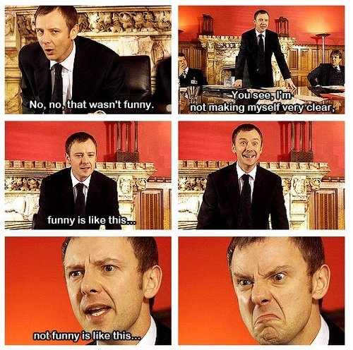 #DoctorWhoChallenge Day 9: Favorite Master- Well, as I've only seen the modern series, obviously it's John Simm. I've never seen any other Master, but he perfectly pulls of the completely insane overlord.
