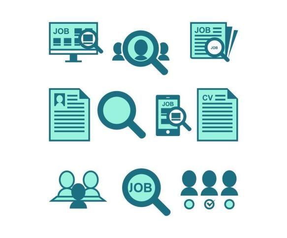 Free Job Search Icon Vector Free Pik Psd Search Icon Job Search Vector Free
