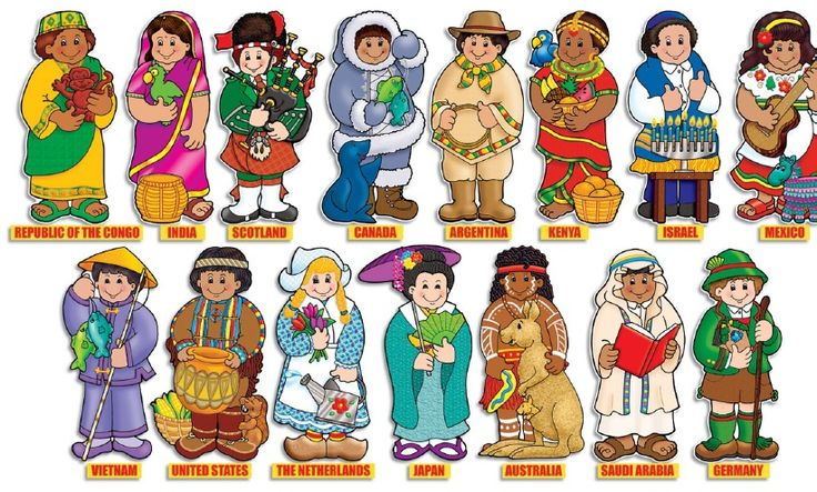children around the world preschool activity