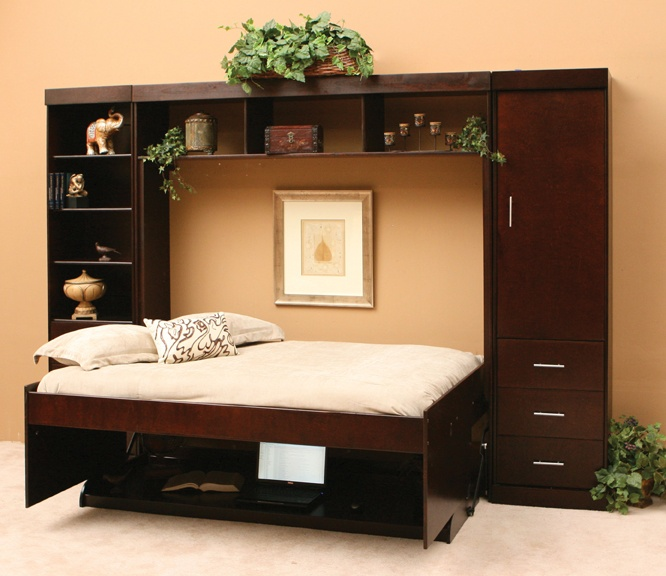 1000 ideas about beds for small spaces on pinterest - Hidden beds for small spaces ...