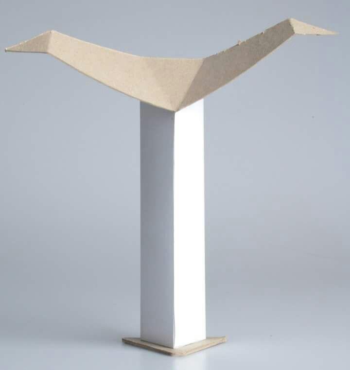 Návrh na cenu Finále - model z papíru
