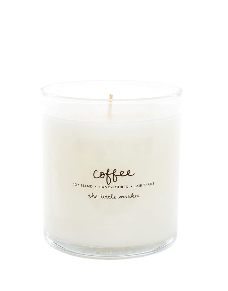 Fair Trade Coffee Scented Soy Candle