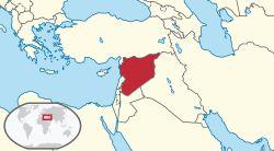 Syria in its region (de-facto).svg